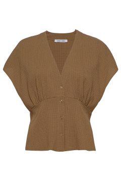 Valerie Top 11238 Blouses Short-sleeved Braun SAMSØE SAMSØE(114355299)