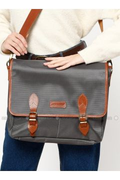 Gray - Shoulder Bags - Ottobags(110318550)