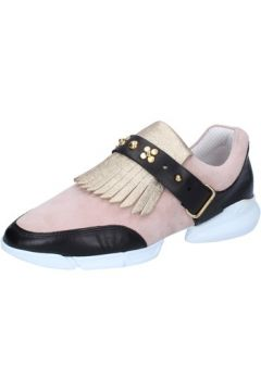 Chaussures Guardiani GUARDIANI sneakers or daim rose cuir AB764(88470106)