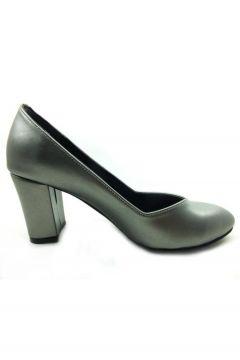 Almera Topuklu Bayan Ayakkabı - Platin 205(108939058)