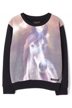 Sweatshirt Pferd Violetta(113866777)