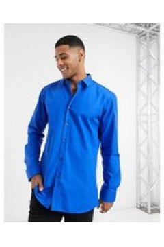 HUGO - Elisha - Camicia Oxford extra slim facile da stirare blu acceso(127297351)