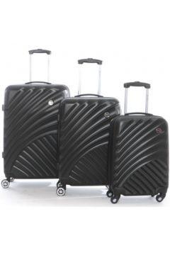 Valise Geographical Norway Set de 3 bagages en ABS SANTONI(115499020)