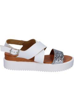 Sandales Keys sandales blanc argent glitter cuir BT986(115442987)