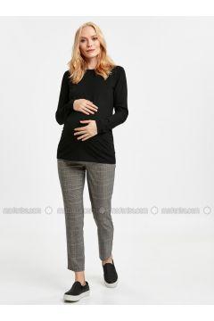 Gray - Maternity Pants - LC WAIKIKI(110316419)