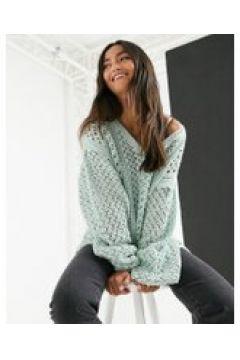 In The Style x Lorna Luxe - Maglione lavorato verde(121731623)