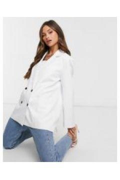 Lioness - Dad blazer oversize bianco(121761192)