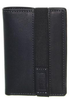 Portefeuille David William Porte-cartes en cuir ref_lhc39317-noir(115555925)