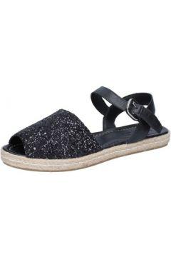 Sandales E...vee E...sandales noir glitter cuir BY188(88522919)