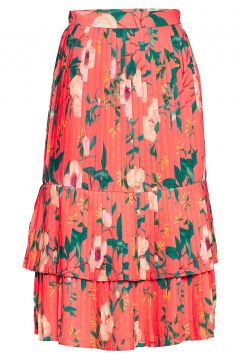 Anabelle Skirt Knielanges Kleid Rot BY MALINA(114165357)