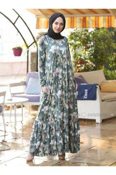 Green - Multi - Dresses - Lysa Studio(110336168)