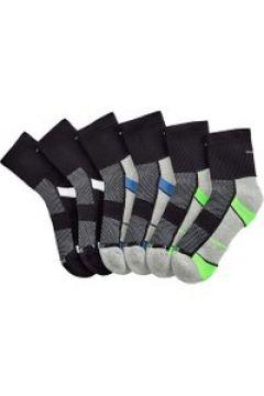 Sneakersocken Blue Moon 2x schwarz/weiß, 2x schwarz/royalblau, 2x schwarz/grün(121370291)