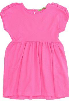 Limon Kız Çocuk Pembe Elbise(113954122)