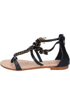 Sandales E...vee E...sandales noir cuir BY189(115400987)