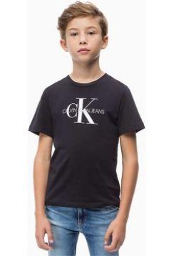 Debardeur enfant Calvin Klein Jeans IB0IB00032 MONOGRAM TEE(101566596)