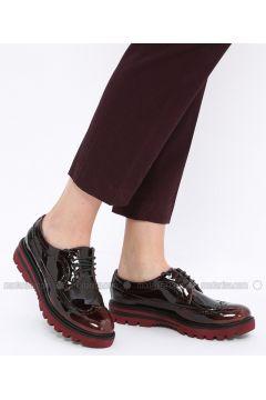 Black - Maroon - Casual - Shoes - Gezer(110328634)
