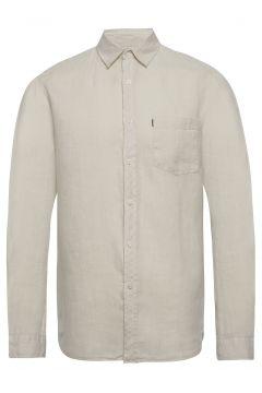 Ryan Linen Shirt Hemd Casual Creme LEXINGTON CLOTHING(114154227)