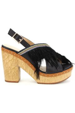 Sandales Cendriyon Sandales Noir Chaussures Femme(115425111)