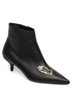 Kate Nappa / Oyster Pump Shoes Boots Ankle Boots Ankle Boots With Heel Schwarz FLATTERED(95002970)