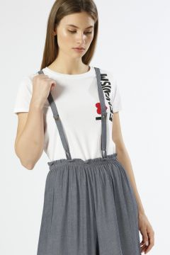 Ole Yazılı Beyaz T-Shirt(113959131)