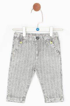 BG Baby Gri Melanj Erkek Bebek Pantolon(114005772)