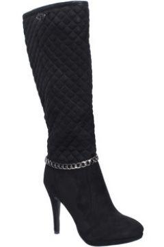 Bottes Braccialini bottes noir daim BX05(98483772)