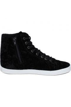 Chaussures Mancapane sneakers noir velours BX166(115442490)