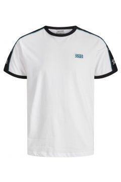 JACK & JONES Kontrastfärgad Piping - T-shirt Man White(112240256)
