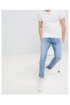 Saints Row - Superenge Jeans in Mittelblau - Blau(88930837)