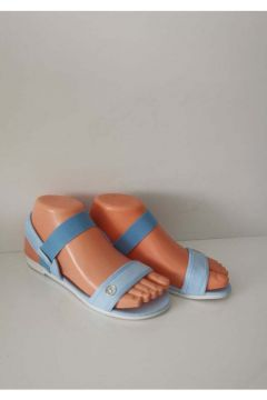ELİS Kadın Mavi Lastikli Sandaleti(119318976)