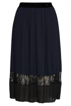 Skirt Knielanges Kleid Blau ROSEMUNDE(114165073)