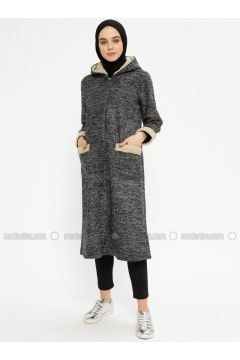 Black - White - Unlined - Topcoat - Meys(110331904)