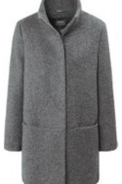 Jacke in Uni-Design mit Stehkragen Basler light grey(121702395)