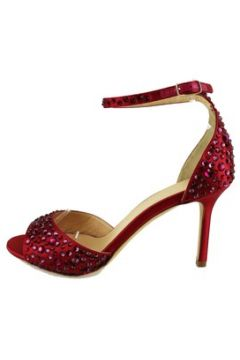 Sandales Lella Baldi sandales rouge satin strass AH824(115400538)