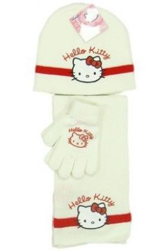 Bonnet enfant Hello Kitty Ensemble bonnet / gants / écharpe(115488634)
