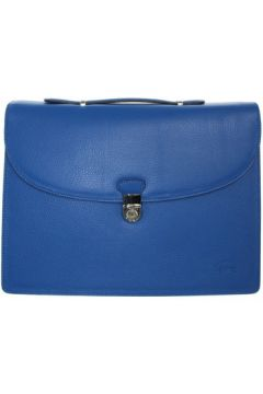 Francinel Serviette en cuir ref_lhc37496-bleu(128012044)