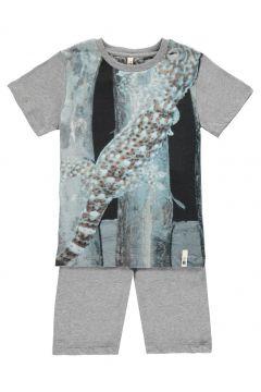 Pyjama Eidechse aus Bio-Baumwolle(113612003)