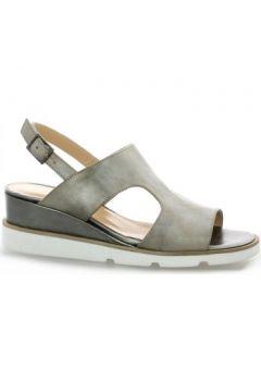 Sandales Benoite C Nu pieds cuir laminé(115614123)