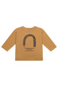 T-Shirt Straight aus Leinen aus Bio-Baumwolle(120104498)