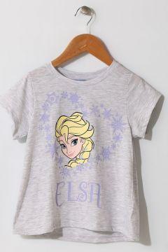 Limon Kız Çocuk Karakter Baskılı Gri Pijama Takımı(124435807)