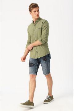 Twister Jeans Sökük Detaylı Denim Şort(113980572)