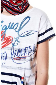 T-shirt enfant Desigual 18SGTK70(115494690)