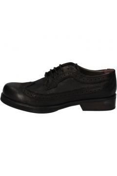 Chaussures Crime London élégantes noir cuir AE323(115399447)