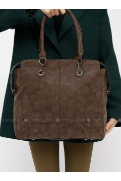 Brown - Shoulder Bags - Kayra(110317935)