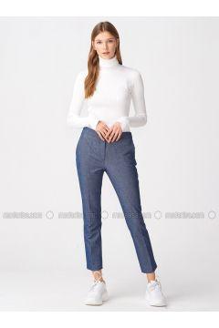 Navy Blue - Pants - Dilvin(110343568)