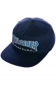 Thrasher Outlined Snapback Cap blauw(85194422)