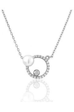 Collier Perle De Nuit Collier en Argent 925/1000 et Perle Blanche Femme(115435207)