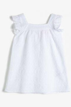 Koton Kız Çocuk Firfir Detayli 0 Pamuk Elbise(118442764)