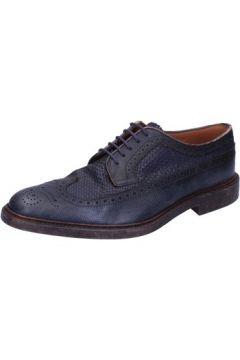 Chaussures Henderson sneakers bleu cuir AB690(115463438)