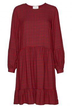 Megan Dress Kurzes Kleid Rot JUST FEMALE(114164817)